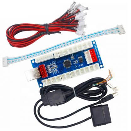 Zero Delay Encoder Fighting Board PS2 PC Android PS3